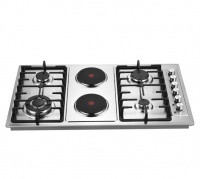 Goldair 4 gas and 2 electric plate hob Photo