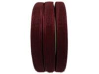 BEAD COOL - Organza Ribbon - 12mm width - Maroon - 120 meters Photo