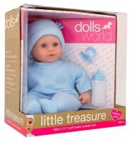Dolls World Dollsworld - Little Treasure Baby Doll - Blue - 38cm Photo
