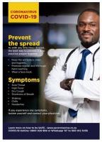 Help Prevent the Spread - A0 - Poster - Mercury - Per Unit Photo