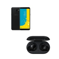 Samsung Galaxy J6 32GB Single - Black Galaxy Buds Black Cellphone Photo