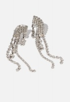 Women's Cotton On Believer Modern Metals Earring - Silver Photo