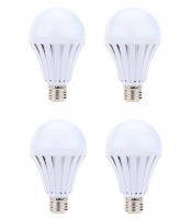 JB LUXX 9W Emergency Rechargeable E27 LED Smart Bulb - Set of 8 Photo
