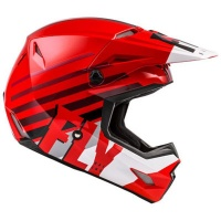 Fly Racing Fly Kinetic Thrive Red/White/Black Helmet Photo