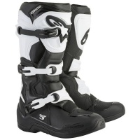 Alpinestars - Tech 3 Enduro/Mx Boots - Black/White Photo