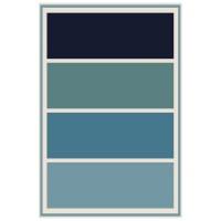 Carpet City Factory Shop Charcoal Grey Light Grey Blocks 160x230cm Photo