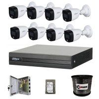 Dahua 1080P HD Full Color 8 Channel Complete Kit Photo