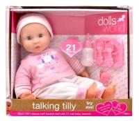 Dolls World Dollsworld - Talking Tilly Baby Doll - 46cm Photo