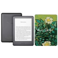 Kindle Touchscreen Wi-Fi With Built-in Light Van Gogh Bundle Photo