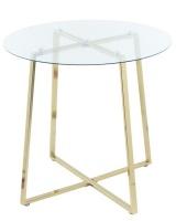 George Mason George & Mason - Round Glass Dining Table Photo