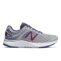 New Balance - Women's 680 Road Running Shoes - Grey Photo