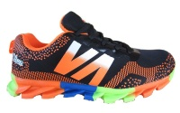 Men's Supercross Trail Running Shoes - Black/Orange Photo