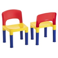 Greenbean Children's Furniture: Multi-Coloured Chairs: Set of 2 Photo