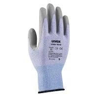 Uvex Unidur Cut Protection Safety Gloves - Blue / Grey Photo