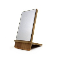 LPS Square Standing Foldable Cosmetic Makeup Travel Desk On-the-go Mirror Photo