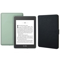 Kindle Paperwhite Wi-Fi With S/O 8GB Sage With Black Cover Photo