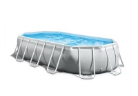 Intex 5 03mx2 74mx1 22m Prism Frame Oval Pool Set Photo