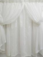 MrCurtain Mr. Curtain - White Kitchen Curtain Photo