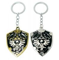 Spoonkie Pop Culture - Legend of Zelda Shield Keychain 2 piecess Combo Photo
