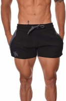 Youngla YLA Bodybuilding Lift Shorts Black/Grey Photo
