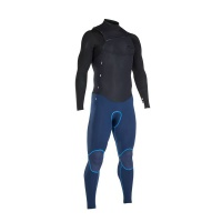 iON Wetsuit - Onyx Select FZ 3/2 2018 - Black/Ink Blue Photo