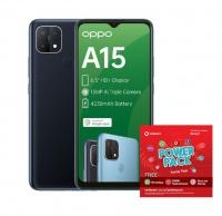 OPPO A15 32GB Single - Dynamic Black Power Cellphone Cellphone Photo