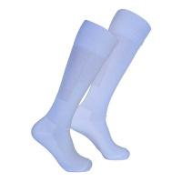 Premier Sportswear 100% Nylon Soccer Socks Plain White - Value Pack of 2 Pairs Photo