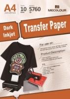MECOLOUR TT-LIGHT A4 Light T-Shirt Transfer Paper Photo
