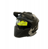Faseed Helmets Faseed 726 Black/Grey Helmet Photo
