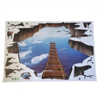 4aKid 3D Wall or Floor Stickers - Sky Ladder Photo