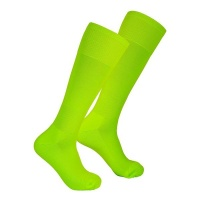 Premier Sportswear 100% Nylon Soccer Socks Plain Neon Yellow - Pack of 14 Pairs Photo