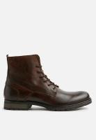 Men's Jack & Jones Worca leather - Brown Stone Photo