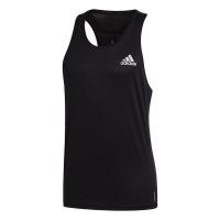 adidas Men's Own the Run Singlet - Black Photo