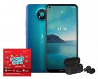 Nokia 3.4 32GB - Blue Power Cellphone Cellphone Photo