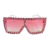 Cubana Diamond Sunglasses Women Men Sunglass - Honolulu - White Diamond Photo