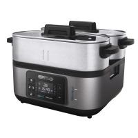 "Morphy Richards Food Steamer Digital Stainless Steel Black 3L 1600W ""Intelli Steam"" Photo"