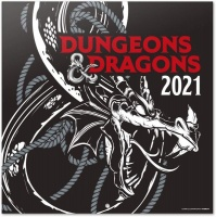 Dungeons and Dragons - 16 Month Wall Calendar 2021 Photo