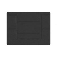 Adjustable Laptop Tablet iPad Macbook Foldable Stand – Grey Photo