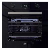 Defy - DBO 489 Slimline Oven- Thermofan - Black- Eye Level Photo