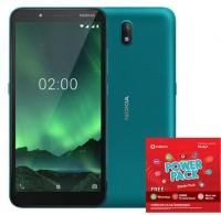 Nokia C2 16GB Single - Cyan Green Power Cellphone Cellphone Photo