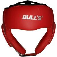 Fury sports Bulls Head Guard - Red - Senior Photo