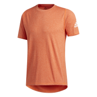 adidas - Men's FreeLift Sport X Ultimate Heather Tee - Coral Photo