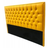 Decorist Home Gallery Just Home - Yellow Headboard Queen Size Photo