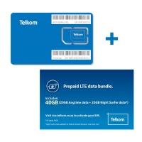 Telkom LTE Prepaid 20GB 20GB Only Cellphone Cellphone Photo