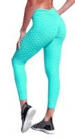 Senorita Linlin 2021 Brazilian Honeycomb Collection Scrunch Booty Yoga Leggings Pants Olive Photo