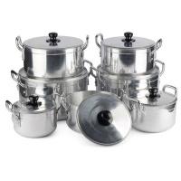7 Pieces Eco-Friendly High Quality Aluminum Pot Set Photo