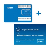 Telkom LTE Prepaid 10GB 10GB Only Cellphone Cellphone Photo