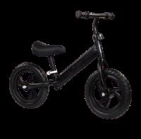 Kids Balance Bike with Adjustable Seat - Black Photo