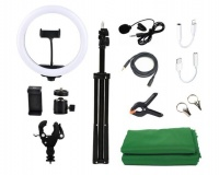 "Jack Brown 12"" Studio Video Creator Ring Light & Accessories Kit Photo"