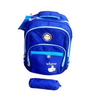 School backpack bag- Navy blue Photo